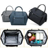 Insulated Oxford Lunch Bag Coolbag Work Picnic Adult Kids Food Storage Lunchbox Women Ladies Girls Portable Case Thermos Tote