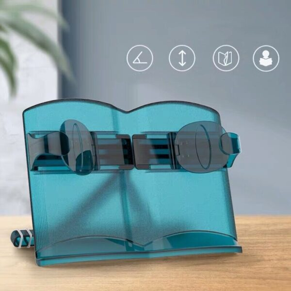 Sharkbang Multifunctional Adjustable Reading Book Holder Bookshelf Laptop Mobile Phone Book Stand Holder Kawaii Stationery