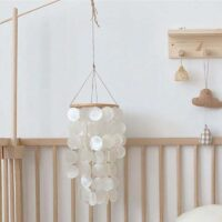 Home Shell Wind Chime Room Decoration Nordic Korean Style Home Office Kids Room Nursery Decor Hanging Wind Chimes Wall Decor