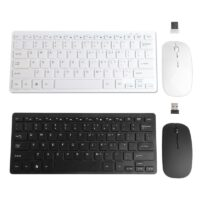 Wireless 2.4GHz Mini Keyboard Ultra-Thin Mouse Combo Set For Desktops Laptops Drop Shipping