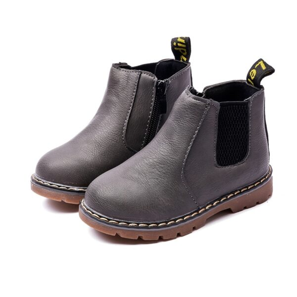 Retro Children's Riding Boots 2020 Spring Autumn Ankle Boots Fashion Kids Girls Casual Shoes Top Quality Boys Baby Leather Boots