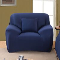 1/2/3/4 Seater Solid Color Elastic Sofa Cover Spandex Modern Polyester Corner Sofa Couch Slipcover Chair Protector Living Room