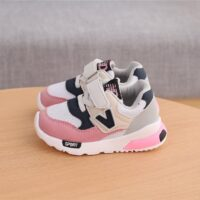Spring Autumn Kids Shoes Baby Boys Girls Children's Casual Sneakers Breathable Soft Anti-Slip Running Sports Shoes Size 21-30