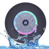 Nasin Portable Subwoofer Shower Waterproof Wireless Bluetooth Speaker Car Handsfree Call Music Suction Mic For IOS Android Phone