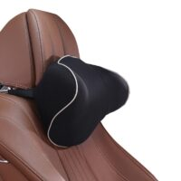 New Protective headrest Neck Pillow Comfortable Space Memory Cotton Padding Relax Neck Muscles Fit For Most Cars