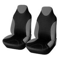 AUTOYOUTH Sports Style High Back Bucket Car Seat Cover 2PCS Fits Most Auto Interior Accessories Seat Covers 5 Colours